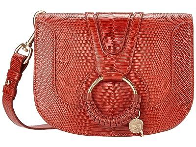 See by Chloe Hana Small Crossbody (Faded Red) Handbags