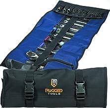 Organizador de rolo de ferramentas com 32 bolsos – Organizador de chaves e bolsa de ferramentas – Rolo de chave inclui bol...