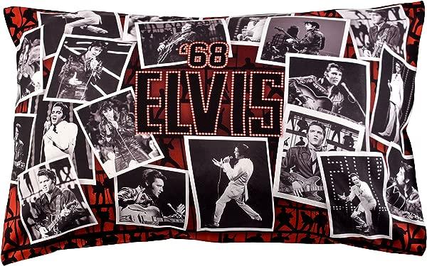 Elvis Presley 68 Comeback Special Rock N Roll 20 X28 Pillowcase 20 X 28
