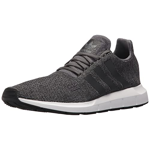 adidas Originals Mens Swift Running Shoe Grey/Black/White 10 ...