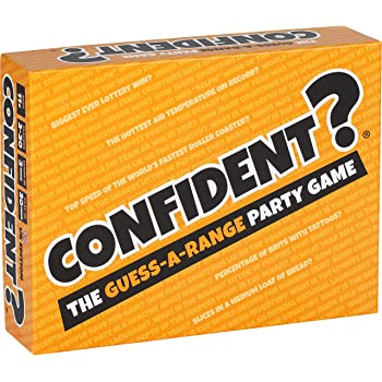 CONFIDENT? Board Game: The Hit Family Party Game - A Quiz Game with a Brilliant Twist - Board Games for Adults, Kids, Families & Teenagers