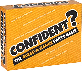 CONFIDENT? Board Game: The Hit Family Party Game - A Quiz Game with a Brilliant Twist - Board Games for Adults, Kids, Fami...