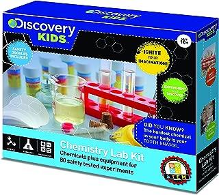 Discovery Kids Chemistry Lab Kit 80 Experiments STEM Activity