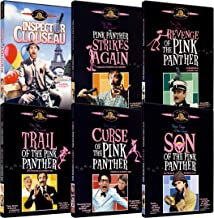 Pink Panther Blake Edwards Collection (Inspector Clouseau, The Pink Panther Strikes Again, Revenge of the Pink Panther, Trail of the Pink Panther, Curse of the Pink Panther, Son of the Pink Panther)