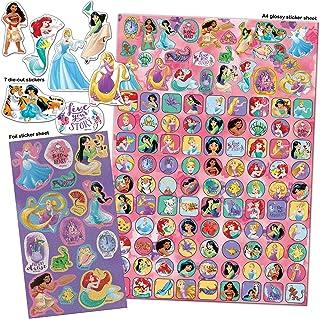 Paper Projects 9124370 Disney Princess Mega pakiet naklejek, różowy, 29,7 cm x 21 cm