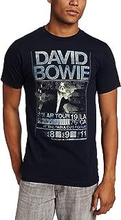 FEA Men's David Bowie Isolar Tour 1976 T-Shirt