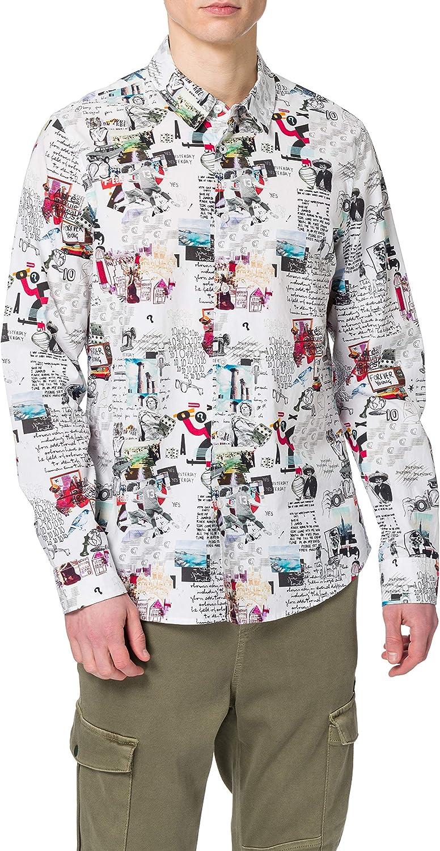Desigual CAM_Abelardo Camiseta para Hombre