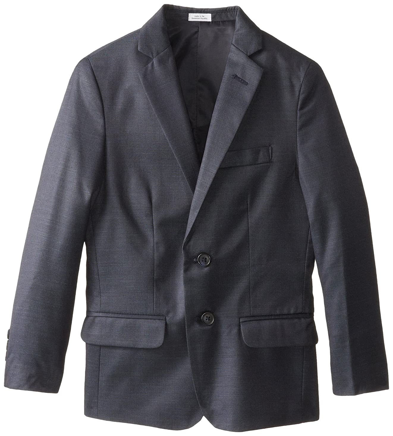 Calvin Klein Boys' Patterned Blazer Jacket