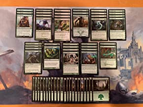 Elite Mono Green Stompy Deck - Aggro Devotion - Modern Legal - Custom Built - Magic The Gathering - MTG - 60 Card!