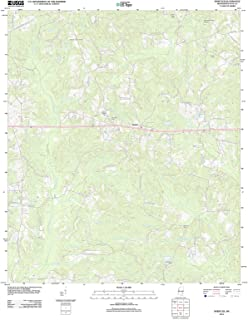 Mississippi Maps - 2012 Whistler, MS USGS Historical Topographic Map - Cartography Wall Art - 44in x 55in
