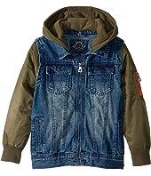 Washed Denim Jacket (Little Kids/Big Kids)