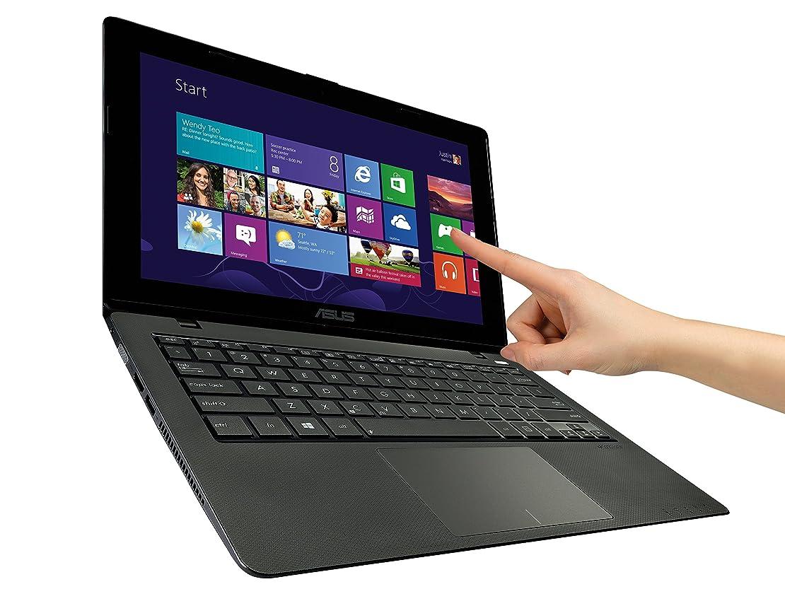 所有者下る混合したエイスース ノートパソコン ASUS K200 11.6-Inch Touchscreen Laptop (Celeron N-2815  2.13GHz/ 4GB DDR3/ 500GB HDD/ Windows 8.1) 【並行輸入品】 (Red)