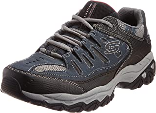 Skechers Men's Afterburn Memory-Foam Lace-up Sneaker