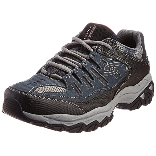 763562b230e Skechers Men s Afterburn Memory-Foam Lace-up Sneaker