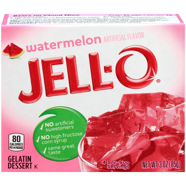 Jell-O Washington Mall Watermelon Gelatin 25% OFF Mix 3 Boxes Pack of oz 6