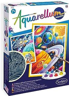 Sentosphère- AQUARELLUM, 6413, Multicolore