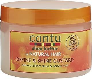 Cantu Natural Hair Define And Shine Custard 12oz Jar by Cantu