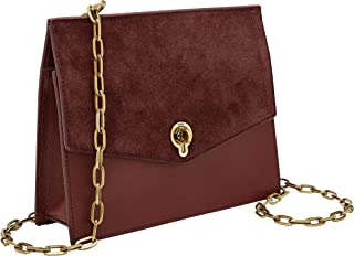 Women's Stevie Leather Crossbody Handbag