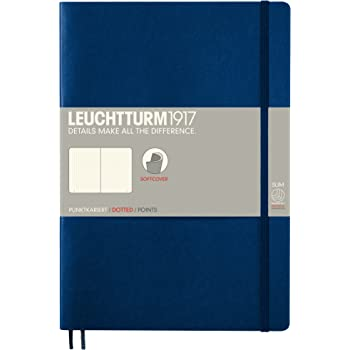 Leuchtturm Softcover Composition B5 Dotted Notebook [Navy]