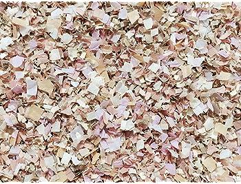 Scatter Table Wedding Decoration Flower Basket Paper Rose Petals Peach Ivory