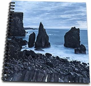 3dRose db_249038_2 North Atlantic Coast Near Reykjanesviti and Valahnukur, Iceland Memory Book 12x12