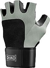 Dr. KO Performance Fitnesshandschoenen voor dames en heren, met polsbescherming, trainingshandschoenen voor krachttrainin...