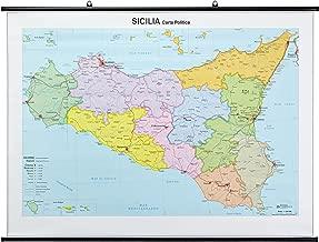 Cartina Sicilia Fisico Politica.Cartina Geografica Dettagliata Della Sicilia