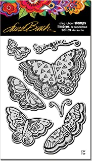 Stampendous Laurel Burch Cling Stamp W/Template