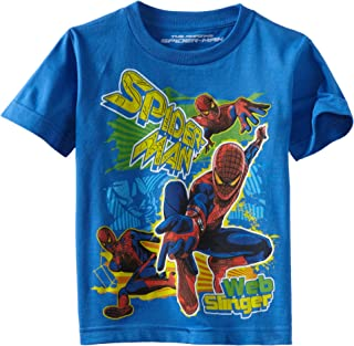 Marvel Boys' Spider-Man Fun Splash Short-Sleeve T-Shirt
