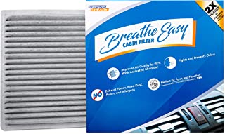 Spearhead Premium Breathe Easy Cabin Filter, Up to 25% Longer Life w/Activated Carbon (BE-846A)