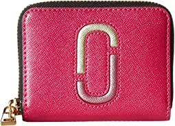 Marc Jacobs - Saffiano Double J Zip Card Case