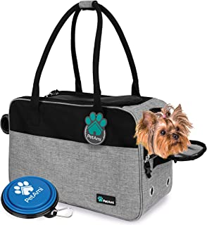 PetAmi Airline Approved Dog Purse Carrier   Soft-Sided Pet Carrier for Small Dog, Cat, Puppy, Kitten   Portable Stylish Pe...
