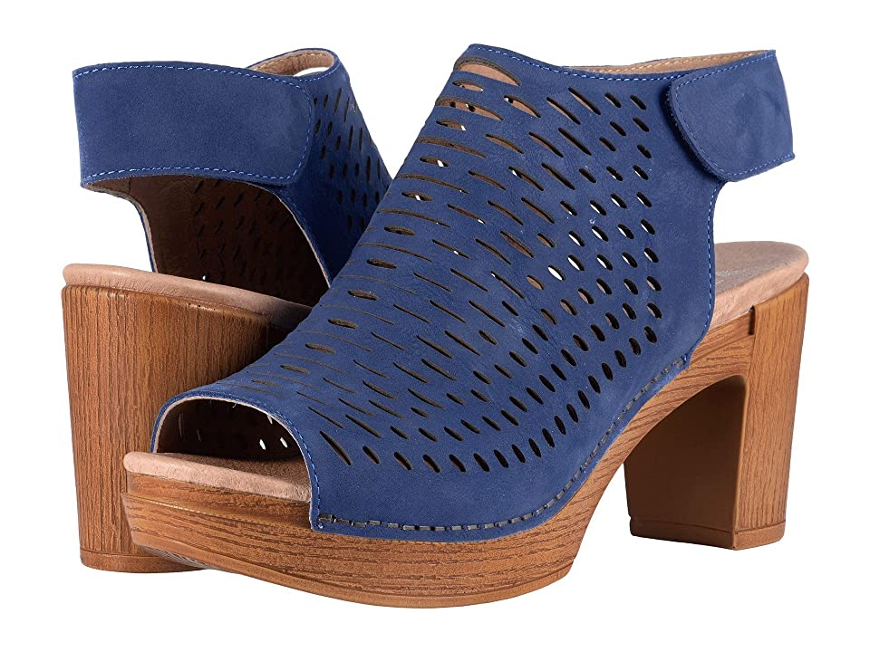 Dansko Danae (Blue Milled Nubuck) High Heels