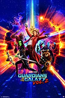 Trends International MCU - Guardians of The Galaxy 2 - Cosmic Premium Wall Poster, 22.375