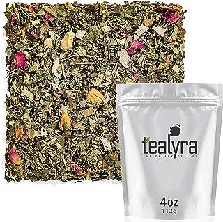 Tealyra - Rosemary Mint - Peppermint - Liquorice - Eucalyptus - Herbal Loose Leaf Tea - Caffeine Free - Relax and Calming - 112g (4-ounce)