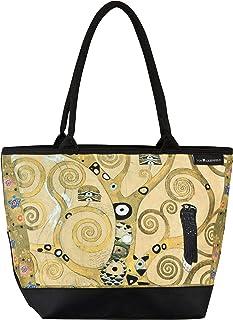 VON LILIENFELD Handtasche Damen Motiv Kunst Gustav Klimt Lebensbaum Shopper Maße L42 x H30 x T15 cm Strandtasche Henkeltas...