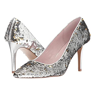 Chinese Laundry Ruthy Pump (Silver Multi Sequins) High Heels