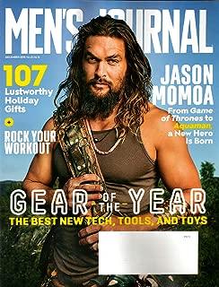 Men's Journal Magazine December 2018 | Jason Momoa & Gear of the Year