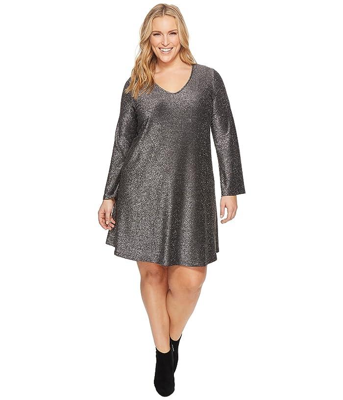 Karen Kane Plus Plus Size Sparkle Taylor Dress | 6pm