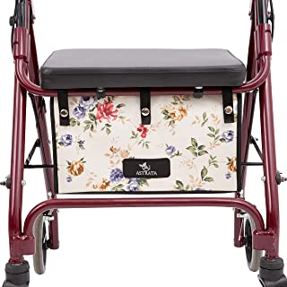 Extra Large Walker Underseat Bag - Rollator Accessories - Under Seat Storage Pouch for Rollator Walker with Seat - Walker ...