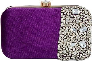 Tooba Women's Crystal Box Clutch
