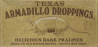 Texas Armadillo Droppings Delicious Dark Pecan Pralines Gift Box - 12 Oz.