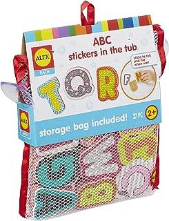 ALEX Toys Alex Bath ABC Stickers in The Tub, Multi
