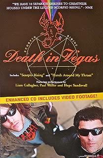 Death in Vegas - Scorpio Rising - Rare Advertising Poster - 11x17