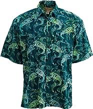 Johari West Dorado Stop Hawaiian Cotton Batik Shirt