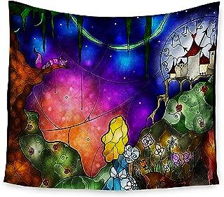 KESS InHouse Mandie Manzano Fairy Tale Alice in Wonderland Wall Tapestry, 68