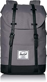 Retreat Backpack, Grey/Black, One Size