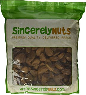 Sincerely Nuts Brazil Nuts in Shell (5 Lb. Bag)   Delicious Healthy Snacking Food   Whole, Kosher, Vegan, Gluten Free   Gourmet Snack   Great Source of Protein, Vitamins & Minerals