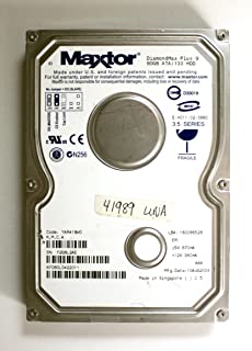 DiamondMax Plus 980GB ATA / 133HDD、yar41bwo (K、M、C、A) 6y080l0422011