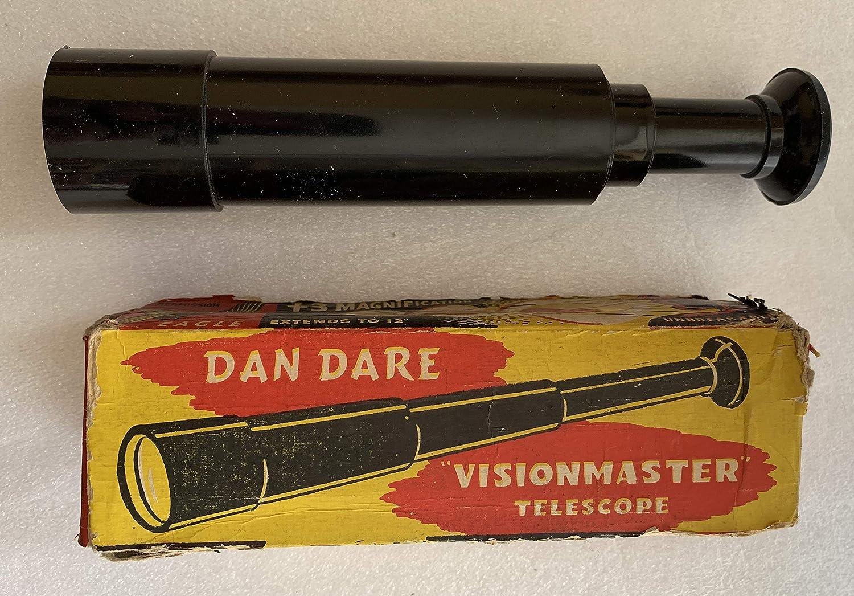 Vintage 1950's The Eagle Comics Dan Dare  Visionmaster Telescope  In The Original Box